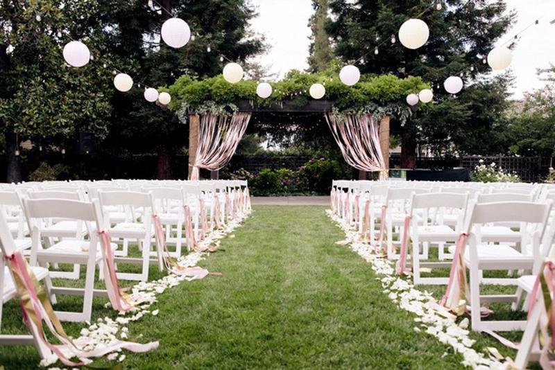 Идеи для свадьбы на природе